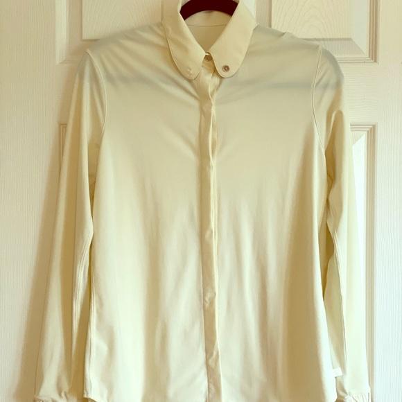 lululemon athletica Tops - Lululemon off white long sleeves shirt (size 4)